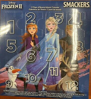Disney Frozen II 12 Days of Beauty Smackers Advent Calendar Lips 141939 N48