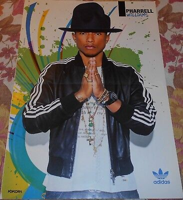 Pharrell Williams - Magazine Poster (A3)