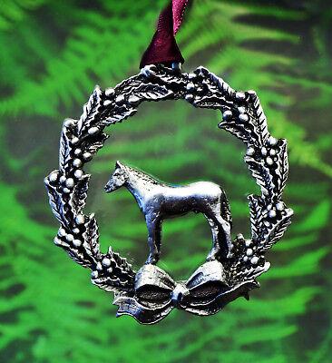 Horse Christmas Ornament | Western Chrismas Decoration | Equestrian Ornament](Western Christmas)