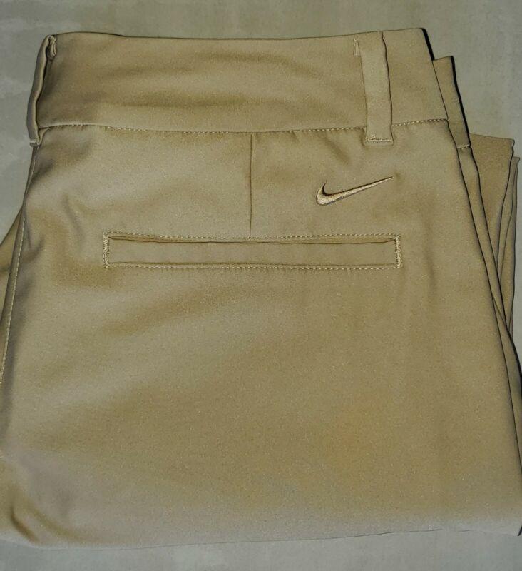 Nike Golf Dri-Fit Woman's Size 6 Tan Pants Flawless Lightweight Comfortable