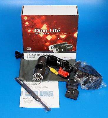 Dino-lite Am4112ptl Premier Pal Tv Digital Microscope 640x480