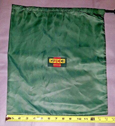 "GUCCI ""Dapper Dan"" Silky Polyester Dust Bag ~ 16"" x 14.5"" ~ Brand New"