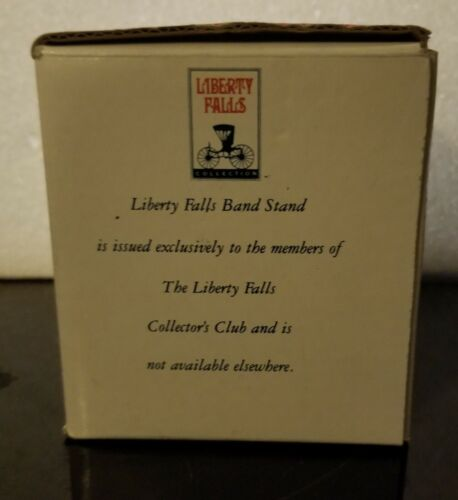 Liberty Falls City Park Bandstand 1994 AH99 3 1/4 Tall W/Box Great Condition - $4.90