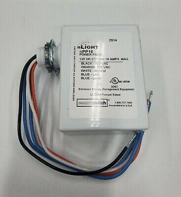 Open Box Never Use Acuity Controls Nlight Npp16 Power Relay Pack 120277