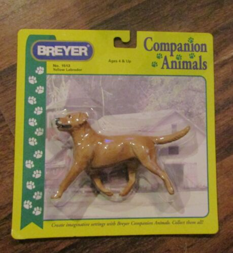 BREYER Yellow Labrador Dog Companion Animals NEW