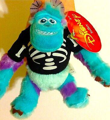 Halloween Bones Skeleton Disney Pixar Monsters University Sulley James plush Boo