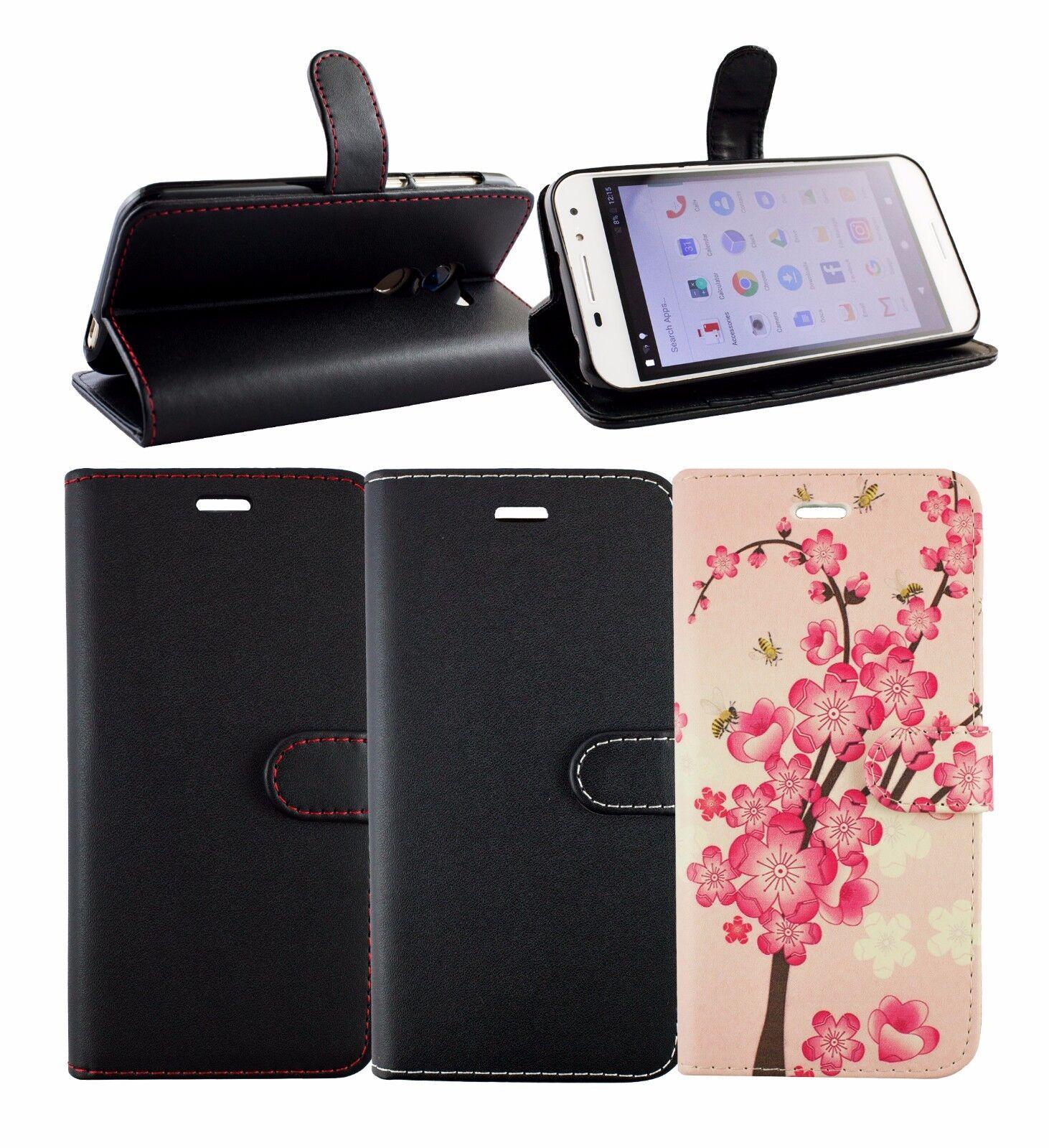 Premium similpelle Supporto da tavolo Custodia a portafoglio Sacchetto a NERA V8
