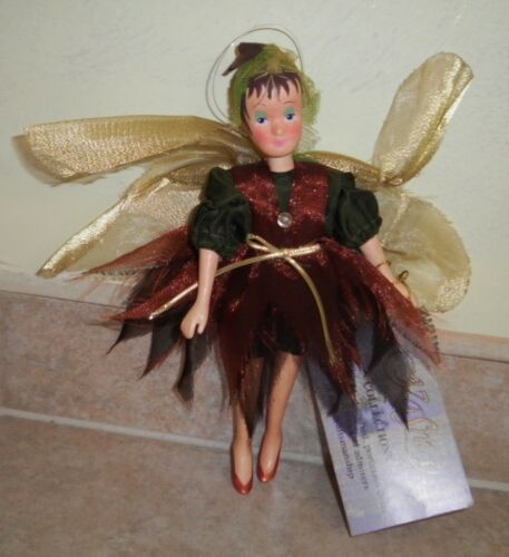 """KASMA 8"""" Porcelain Fairy Doll with Jointed Arms and Legs w/Tag"""