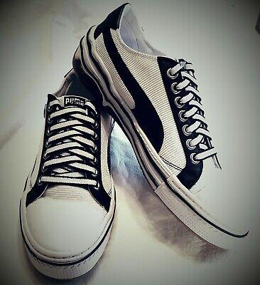 Puma Mihara Yasuhiro Mens Sneakers Casual Sports Shoes Black/White Size 7 /EU 39