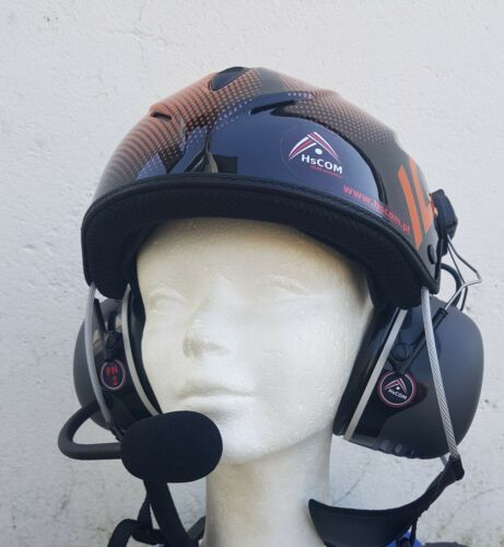 Helmet with communication system