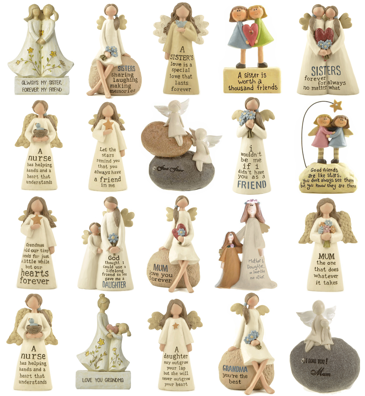 Home Decoration - Gift for Friend Mother Sister Daughter Home Decoration Angel Ornament Figurine