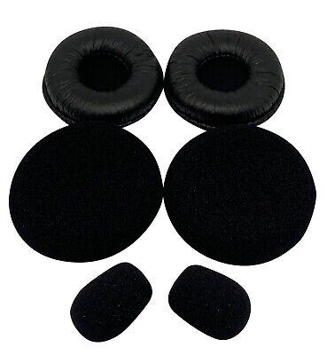 Replacement Ear Pad Cover Foam Parts for VXi BlueParrott B250 Series Headsets
