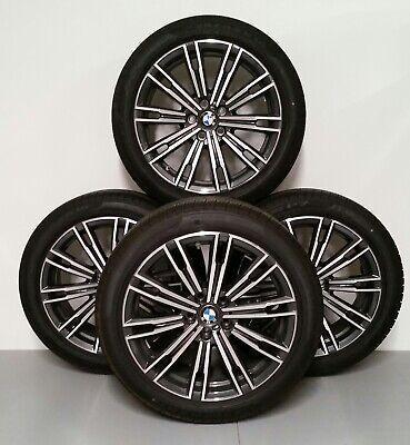 "BMW OEM 790M Orbit Grey Wheels  7.5"" x 18"" set w/ Pirelli Tires  - set of 4"