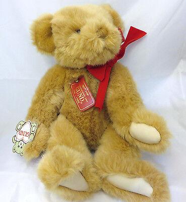 Gund Collectors Classic 90th Anniversary Commemorative Teddy Bear