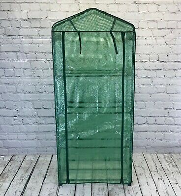Selections 4 Tier Mini Greenhouse Grow House With Reinforced Cover for sale  Blandford Forum