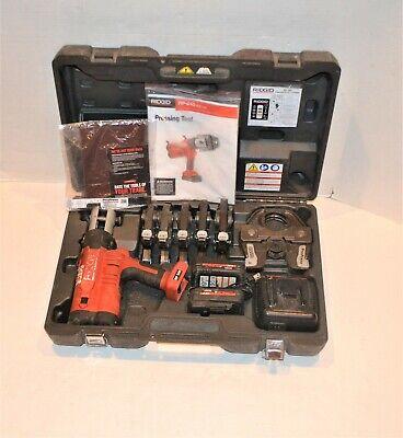 Ridgir Rp340 Pro Press Crimper 12 - 2 Cordless 43358 Rp 340 Propress