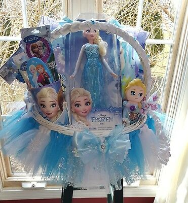 Frozen Anna Tutu Gift Basket Made For any occasion By Norma's Unique Gift Basket (Frozen Gift Basket)