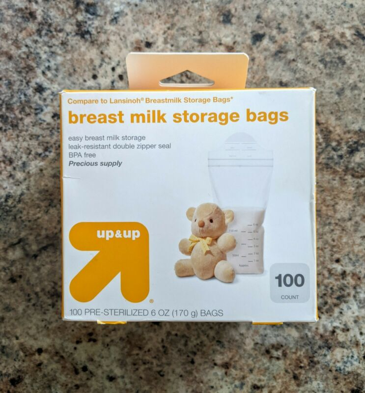 Up & Up Breast Milk Storage Bags 100