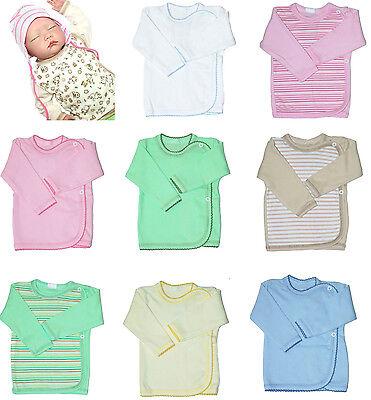 Baby Hemdchen Flügelhemdchen, Erstlingsshirt , Wickelshirt, Wickelhemdchen