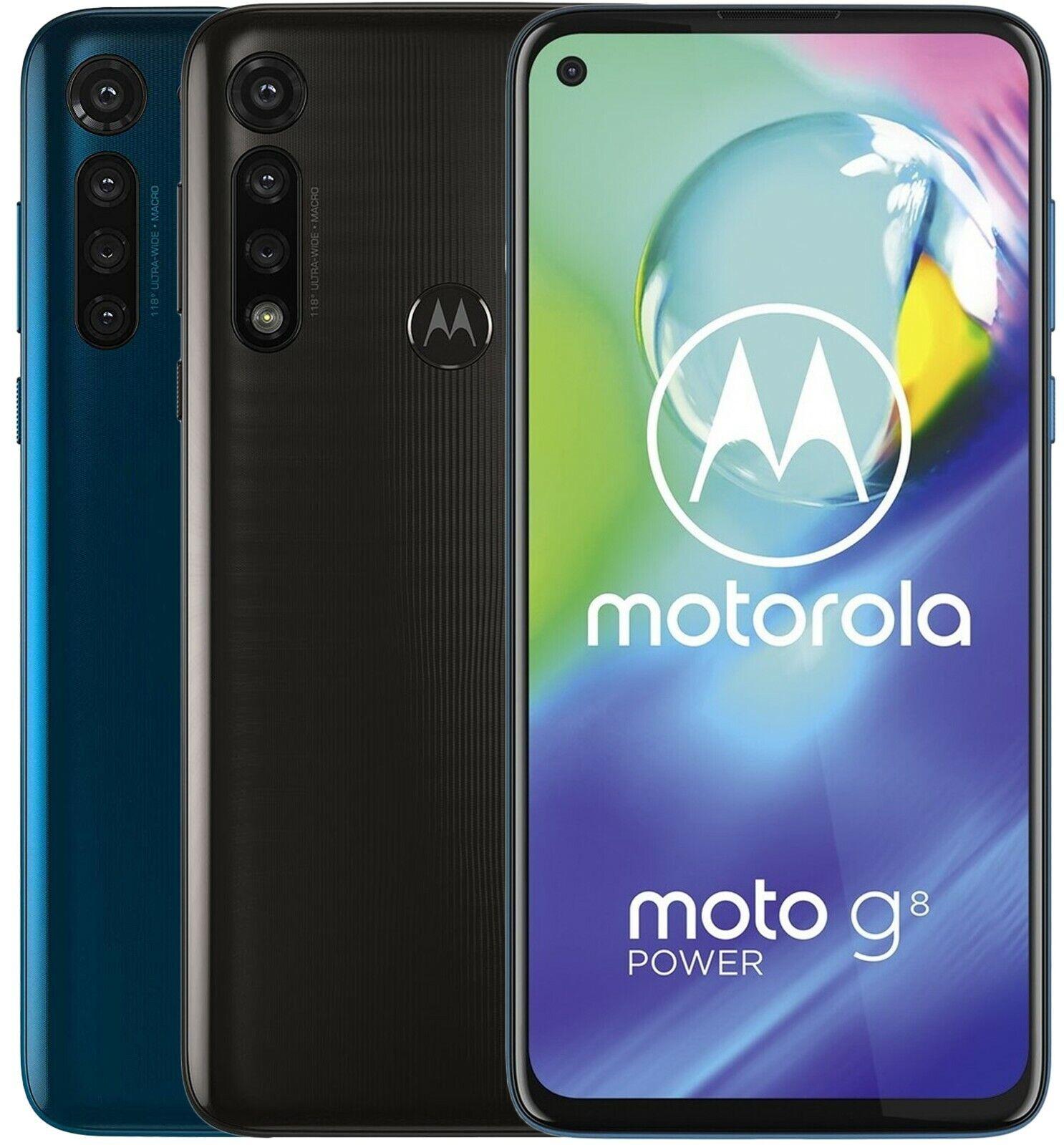 Motorola Moto G8 Power XT2041-1 Dual Sim (FACTORY UNLOCKED) 6.4