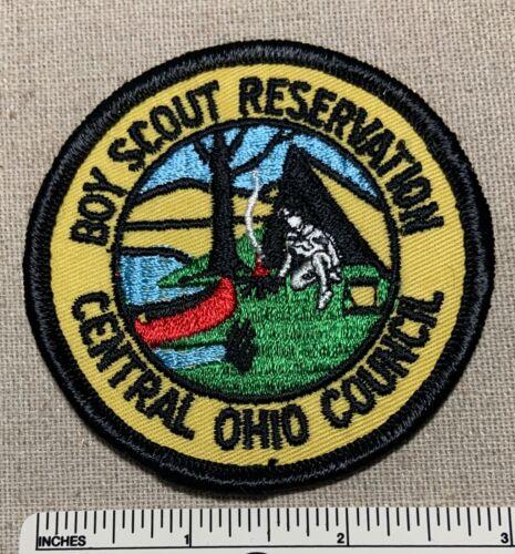 Vintage 1960s CENTRAL OHIO COUNCIL Boy Scout Reservation PATCH BSA Camp OH