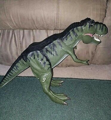 """Authentic1996 Jurassic Park The Lost World 24"""" T-Rex Action Puppet Dinosaur"""