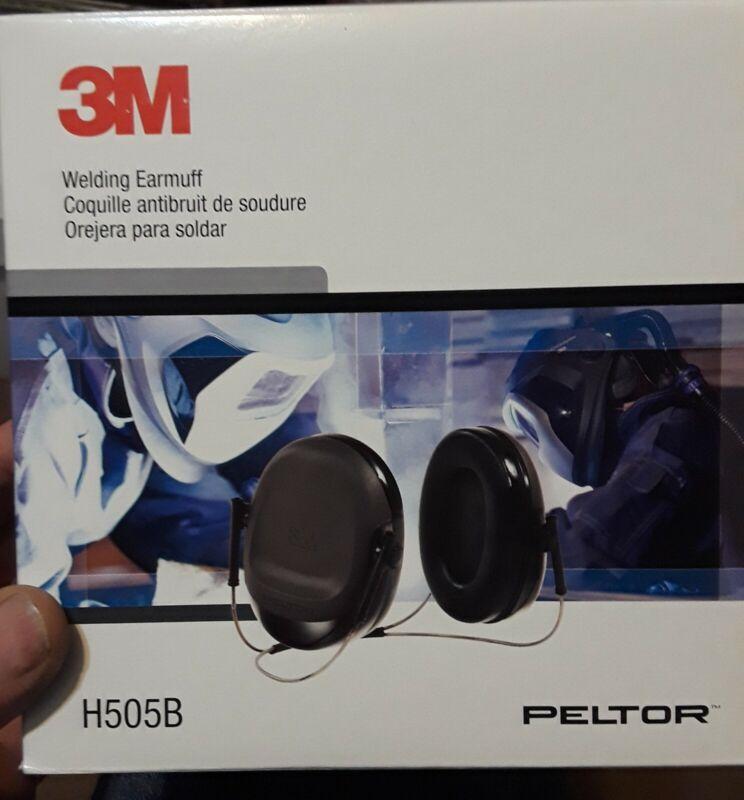 3M Peltor Welding Ear Muffs H505B, Behind-the-Neck, 17dB NRR, Dark Gray, Earmuff