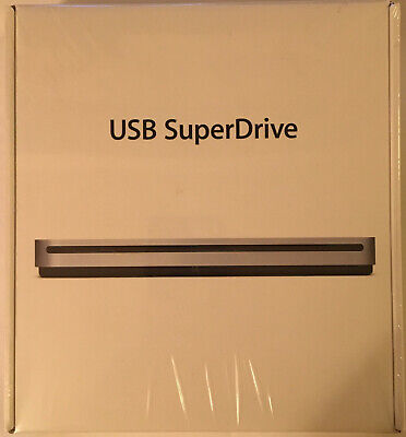 Apple USB SuperDrive Model  MD564LL/A   A1379  **NEW FACTORY SEALED**