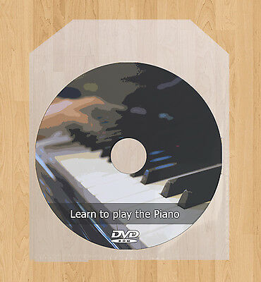 Learn how to play the Piano DVD video guide lessons tutorial tuition Keyboard on Rummage