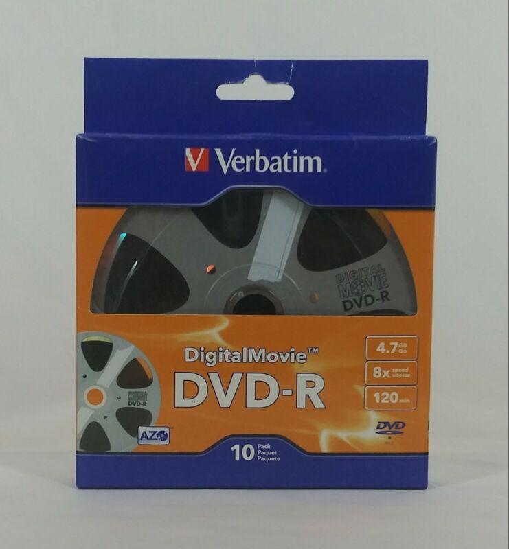 VERBATIM AMERICA, DIGITAL MOVIE DVD-R 10PK BULK BOX