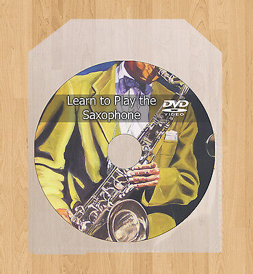Learn how to play the Saxophone lessons DVD video guide tutorial Sax tuition on Rummage