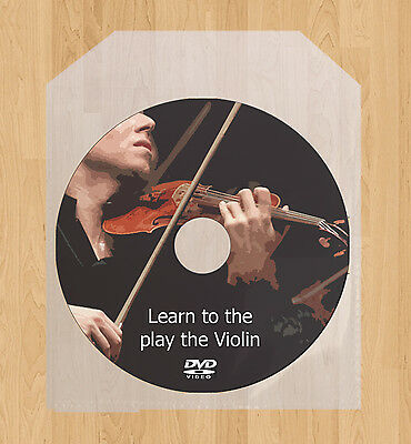 Learn how to play the Violin lessons DVD Fiddle video guide tutorial tuition on Rummage