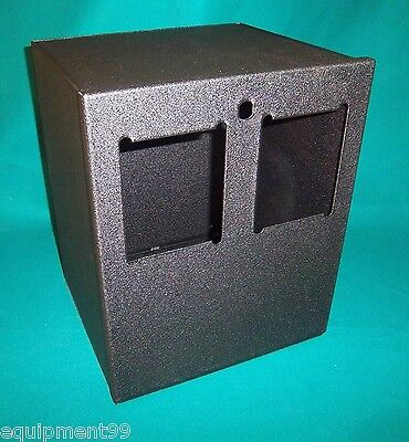Dual Bill Validator Opening Steel Enclosure Made In The Usa