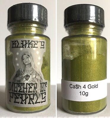 *Blakes Mother of Pearls Loose Dry Pearl Pigment Ca$h 4 Gold 2 tone Lowrider