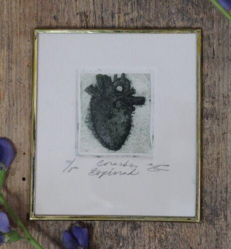 Love Hurts Spikey Cactus Heart Framed Print Mexican Folk Art by Genaro Abelar