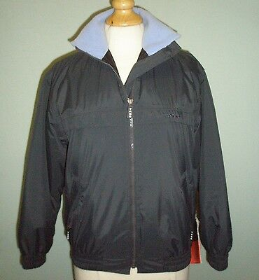 Tagg Charcoal Blouson Jacket Size Small
