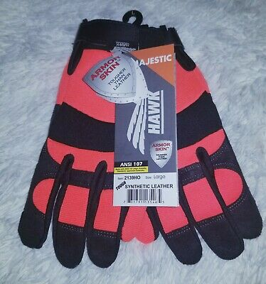Insulated Waterproof Work Gloves Majestic- Armorskin-hawk Sz L
