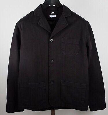 Willy Chavarria sz M black denim workers jacket