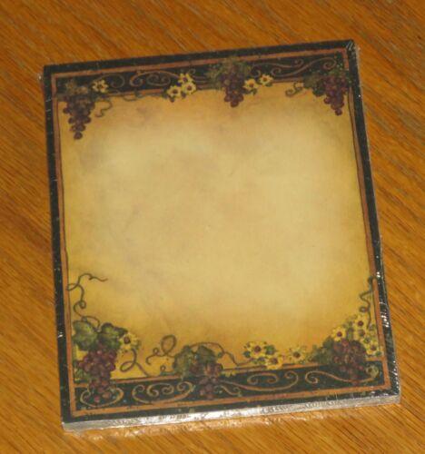 Susan Winget Art - Very Fine Grapevine - Lang Main Street Press Note Pad