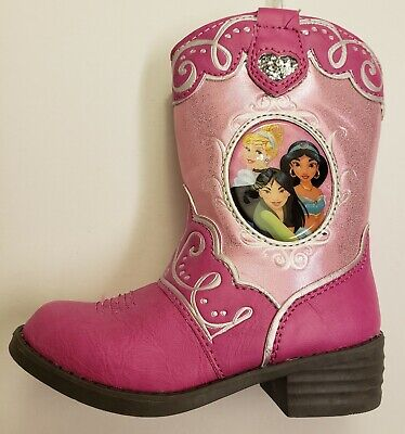 Disney Princess Toddler Cowgirl Boots - - Cowgirl Princess