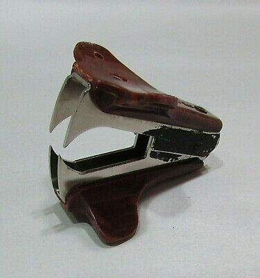 Vintage 1990s Usa Ace Staple Remover Brown Good Working Condition Free Sh