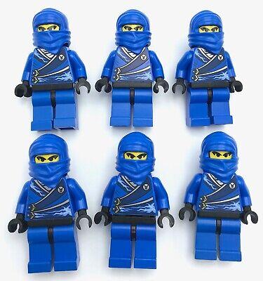 LEGO 6 BLUE NINJA MINIFIGURES NINJAGO FIGURE PEOPLE ](Blue Ninja)