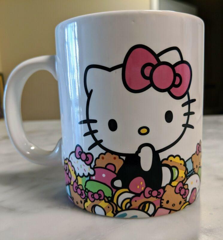 Hello Kitty Cafe Exclusive Mug Comes with Original Box EUC