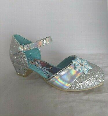 Frozen Dress For Little Girls (Disney Frozen Dress Shoes, Girls Little Kid Size 10 - Elsa High Heel Dress)