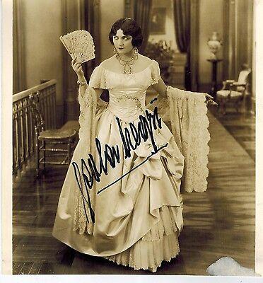 Pola Negri Signed Photo +Originakl Mailing Envelope... Legendary Actress