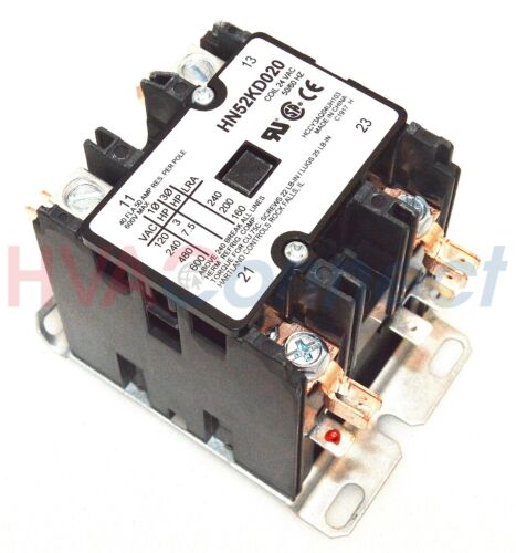 Carrier Bryant Contactor Relay 2 Pole 40 Amp HN52KD020