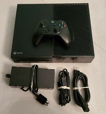 Microsoft Xbox One Launch Edition 500GB Console - Black w/ Controller & Plugs