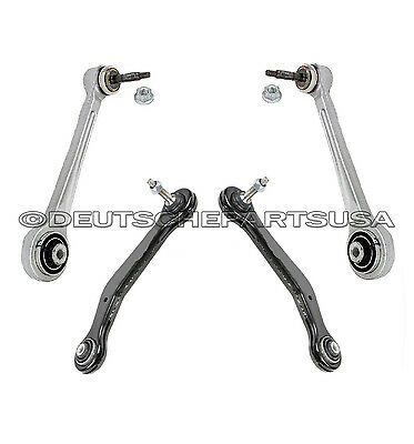 REAR UPPER AXLE STRUT CONTROL ARM GUIDE ROD SUSPENSION LINK for BMW E38 SET 4