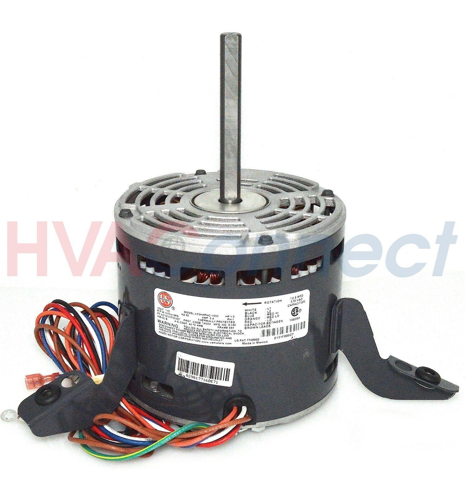 GE Genteq Goodman Janitrol Furnace BLOWER MOTOR 1/3 HP 115v