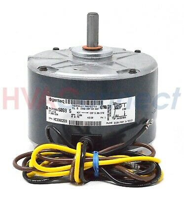 OEM Carrier Bryant Payne Condenser FAN MOTOR 1/10 HP 208-230 Volt -